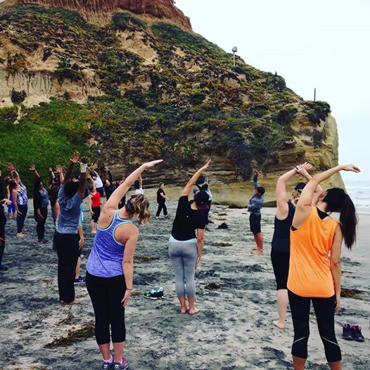 Fitbit Local Yoga Solana Beach March 19 2016