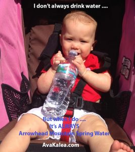 Ava Kalea Recommends Arrowhead Mountain Spring Water
