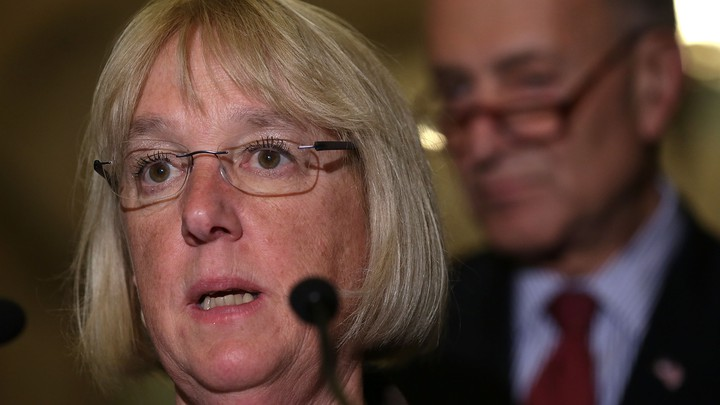 Senator Patty Murray Blows Chuck Schumer