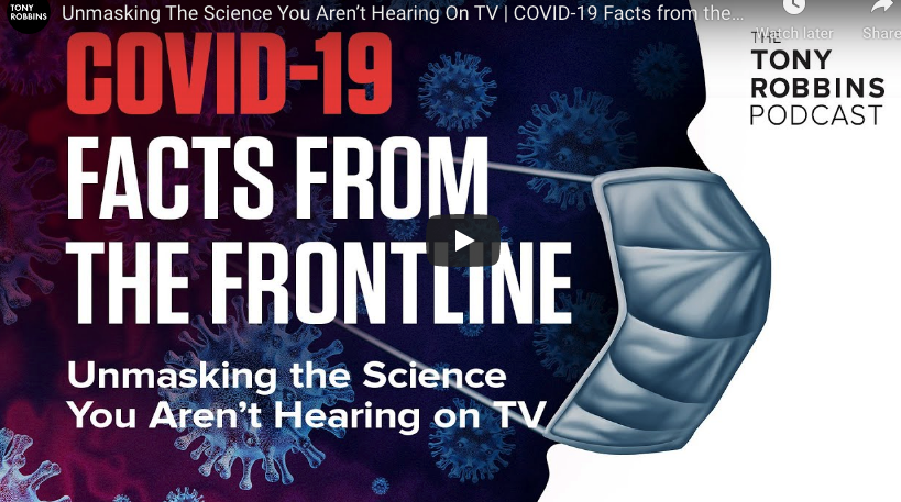 COVID-19 Facts from the Frontline Unmasking the Science You Aren't Hearing on TV