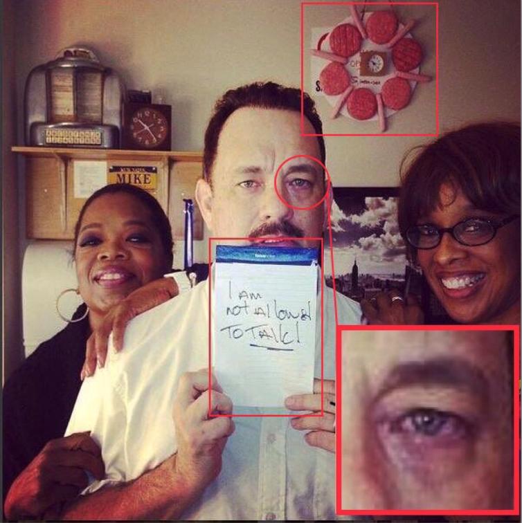 Oprah Winfrey and Tom Hanks suspected pedophiles