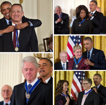 Pedos Getting Medal of Freedom from Obama