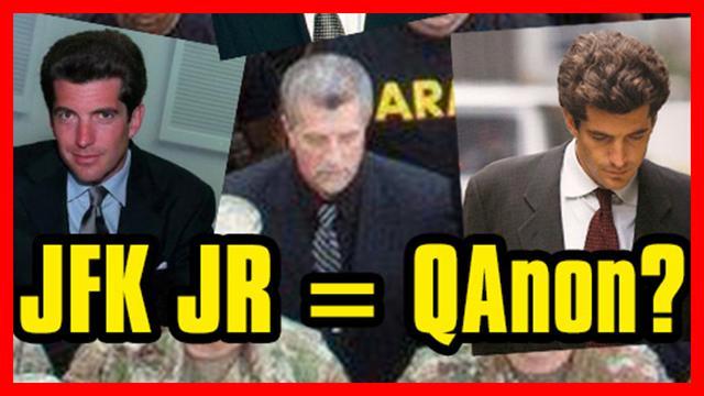 John F. Kennedy Jr. is Q QAnon.fun