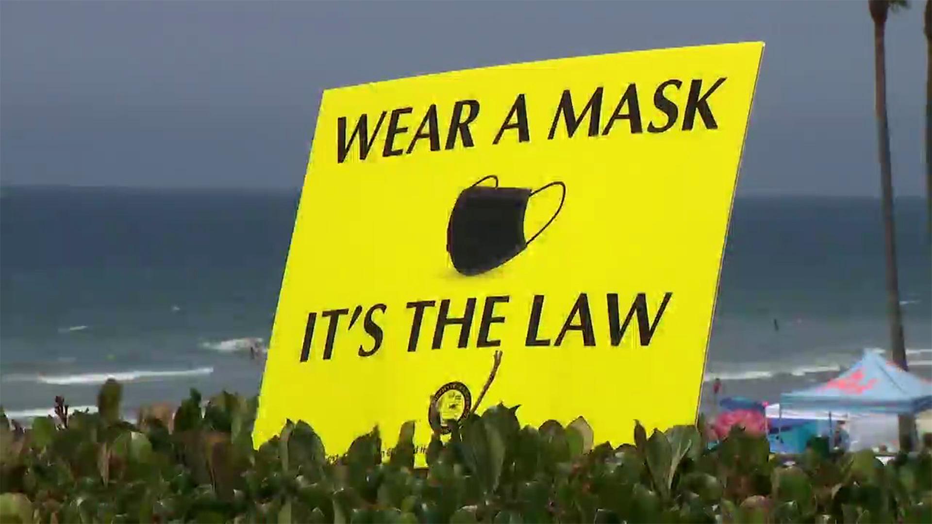 Mask Bullshit in Del Mar California