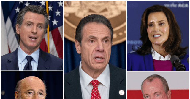 Cuomo Newsom Whitmer I Love It When the Left Eat Their Own