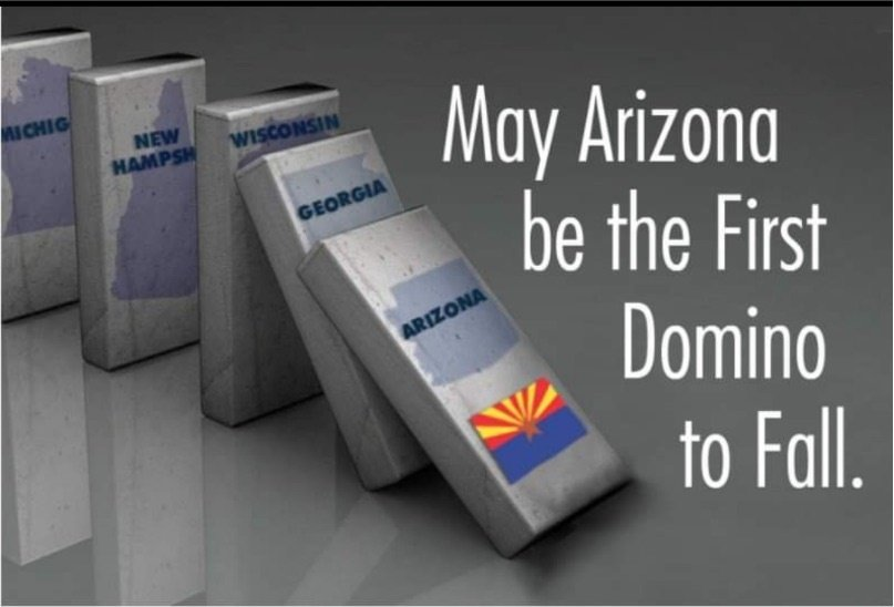 Arizona Election Audit - First Domino to Fall